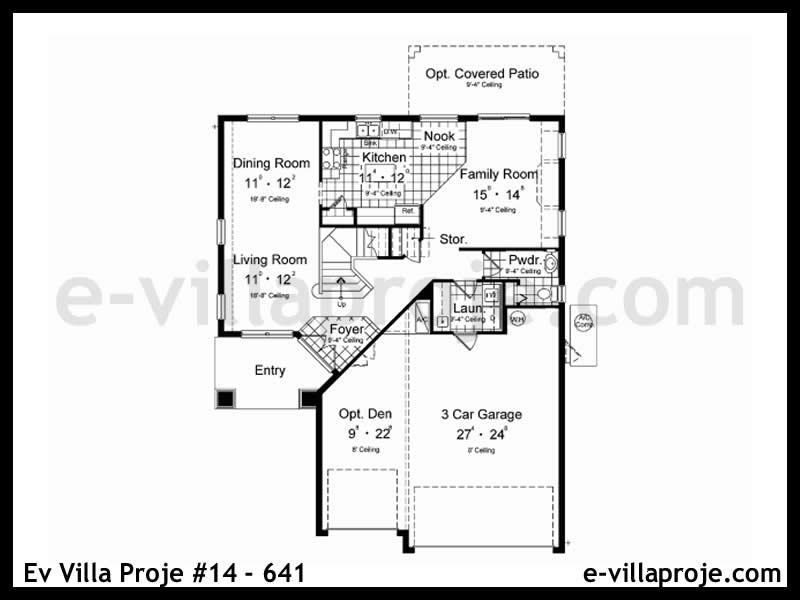Ev Villa Proje #14 – 641