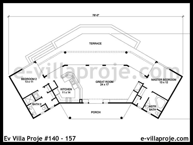 Ev Villa Proje #140 – 157
