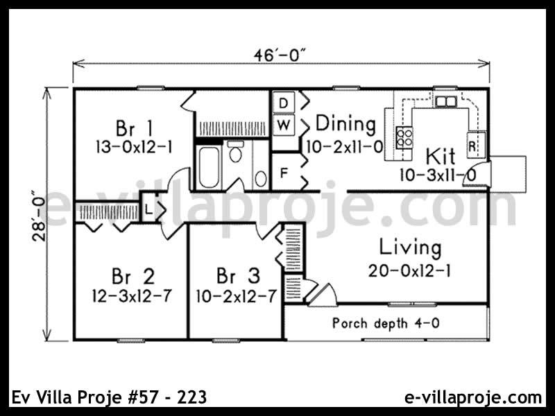 Ev Villa Proje #57 – 223
