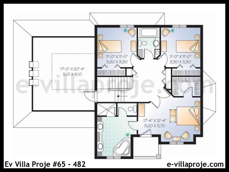 Ev Villa Proje #65 – 482
