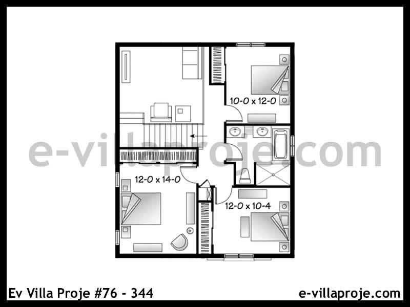 Ev Villa Proje #76 – 344