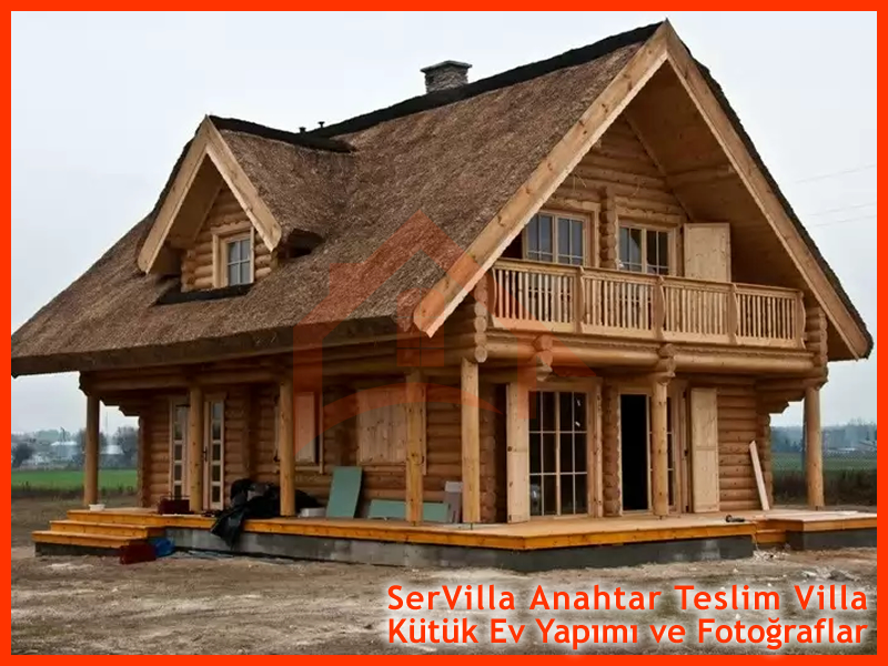 Kütük Ev Villa Sistemi ile Villa Projeleri