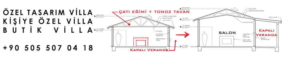 Ev Villa Proje Tadilatı